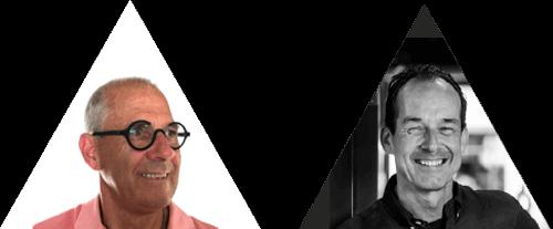 Winolt van Westrienen en Wilfried Nielen